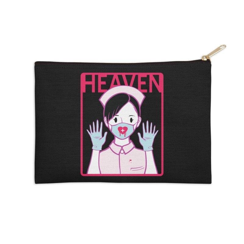 Closer to Heaven-Aide Accessories Zip Pouch by kentackett's Artist Shop