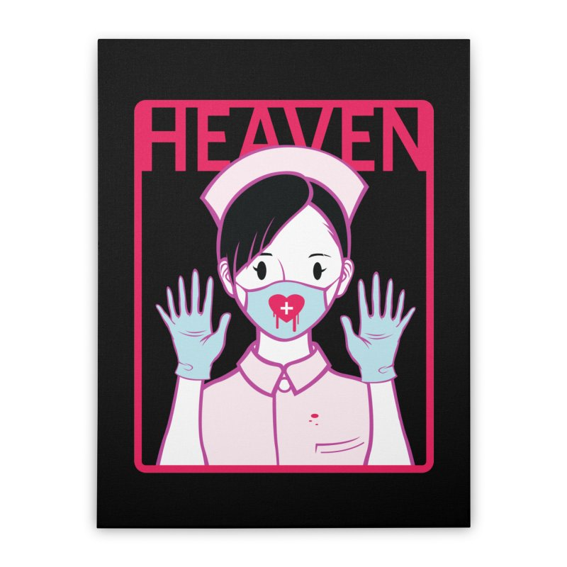 Closer to Heaven-Aide Home Stretched Canvas by kentackett's Artist Shop