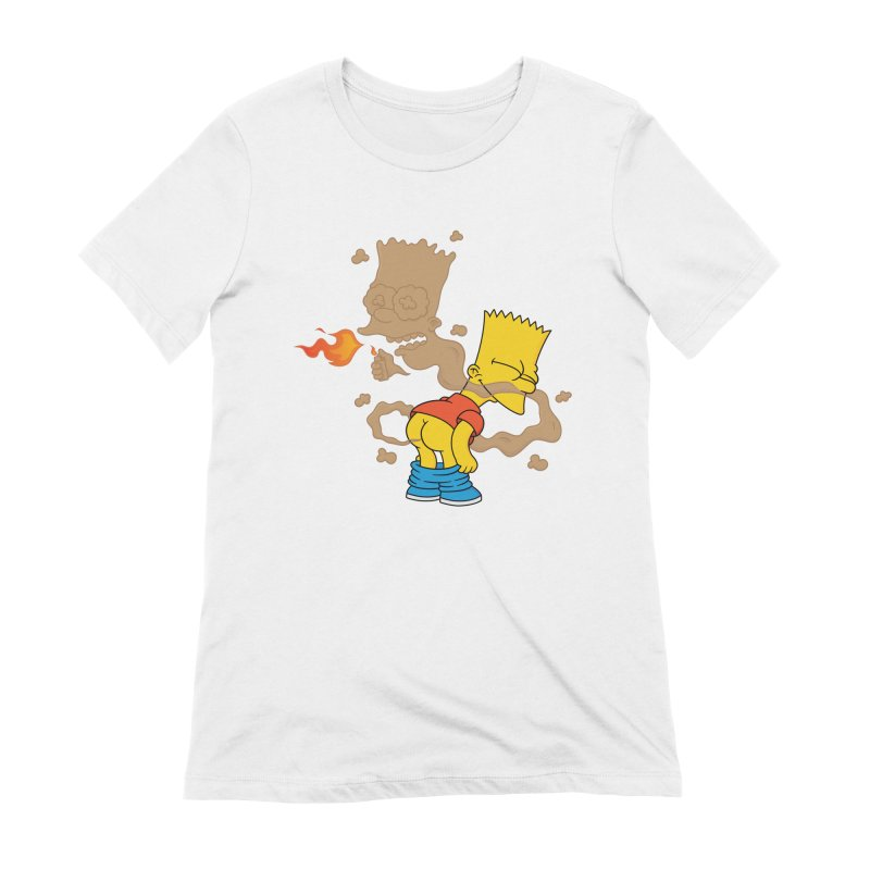 Fart Simpson Women's Extra Soft T-Shirt by KENYONB Threadless Shop