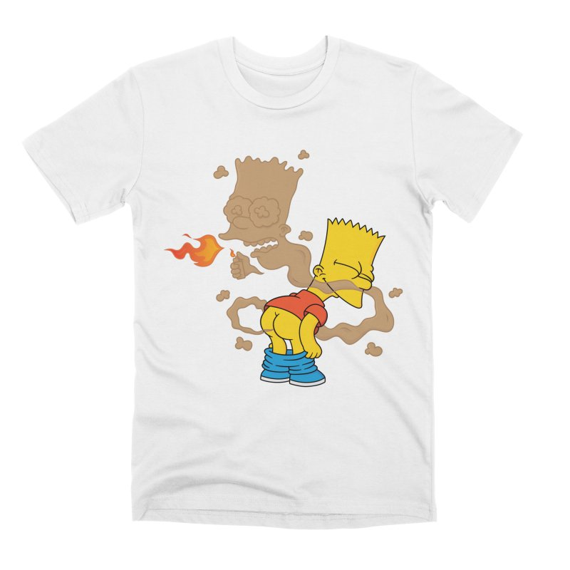 Fart Simpson Men's Premium T-Shirt by KENYONB Threadless Shop