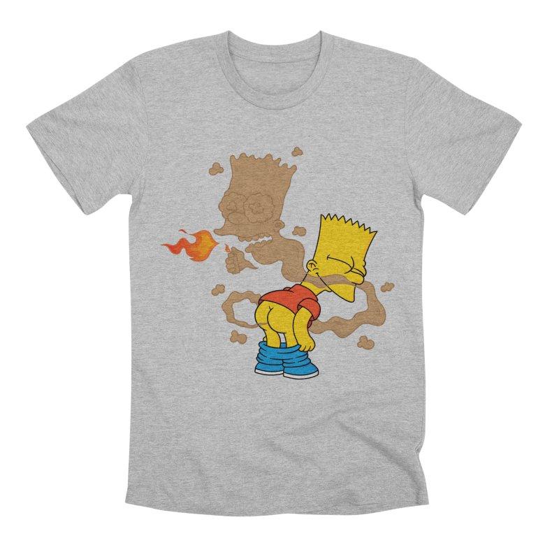Fart Simpson Men's Premium T-Shirt by KENYONB Threadless Shop