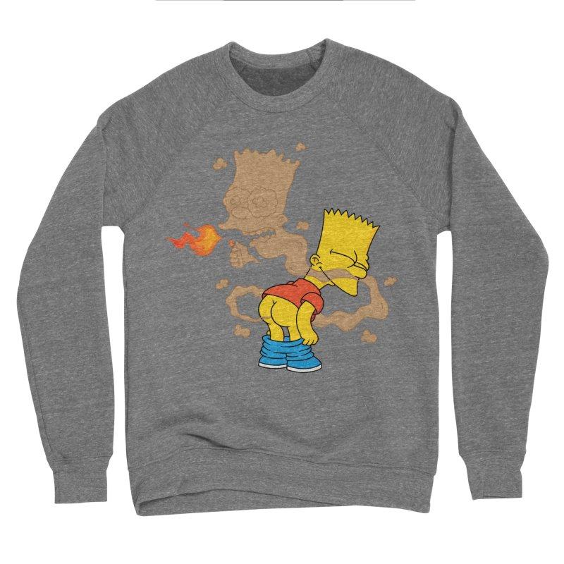 Fart Simpson Women's Sponge Fleece Sweatshirt by KENYONB Threadless Shop