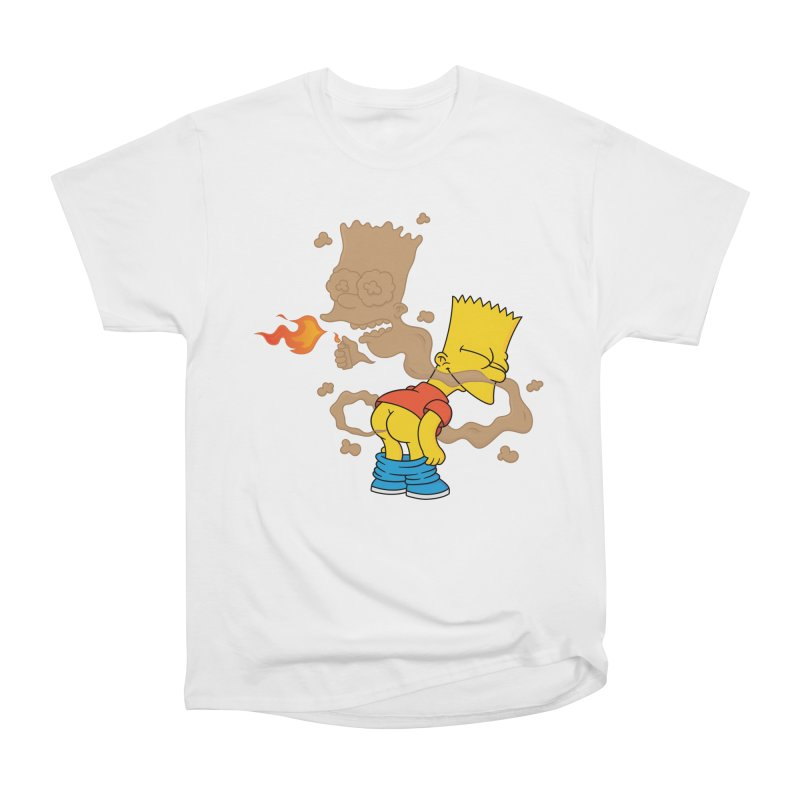 Fart Simpson Women's Heavyweight Unisex T-Shirt by KENYONB Threadless Shop