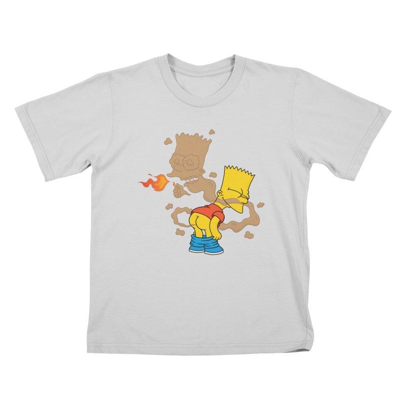 Fart Simpson Kids T-Shirt by KENYONB Threadless Shop