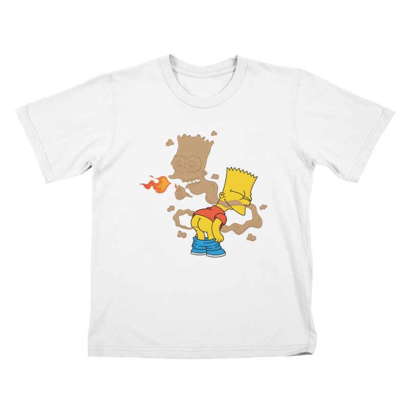 Fart Simpson Kids T-Shirt by KENYONB Threadless Shop