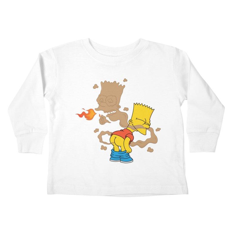 Fart Simpson Kids Toddler Longsleeve T-Shirt by KENYONB Threadless Shop