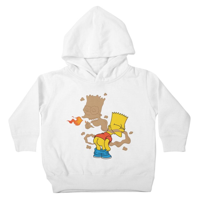 Fart Simpson Kids Toddler Pullover Hoody by KENYONB Threadless Shop
