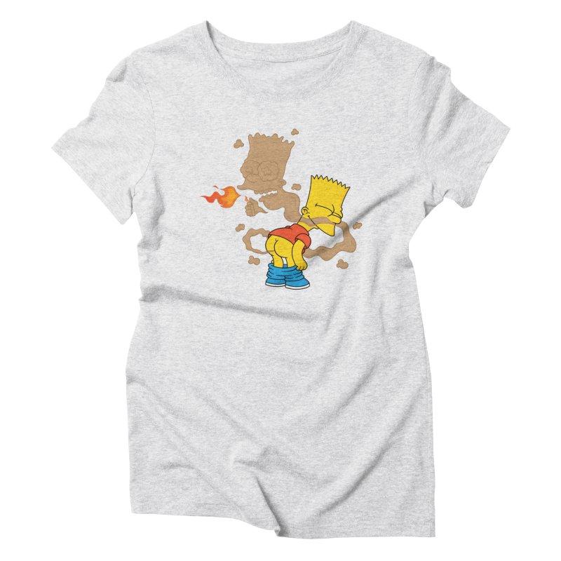 Fart Simpson Women's Triblend T-Shirt by KENYONB Threadless Shop