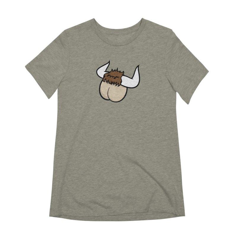 Butt Ox Women's Extra Soft T-Shirt by KENYONB Threadless Shop