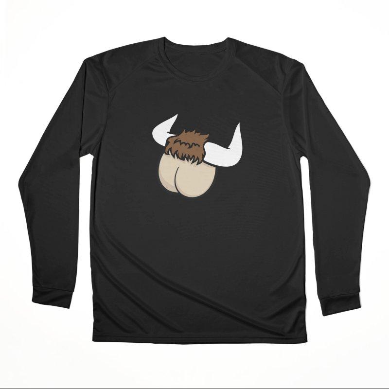 Butt Ox Women's Performance Unisex Longsleeve T-Shirt by KENYONB Threadless Shop