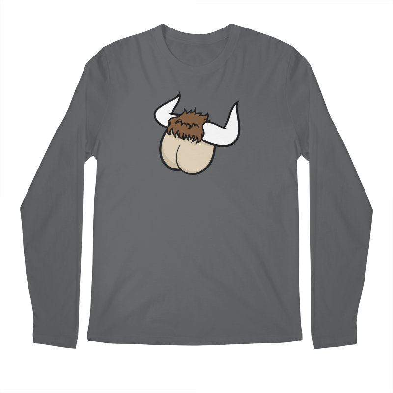 Butt Ox Men's Longsleeve T-Shirt by KENYONB Threadless Shop