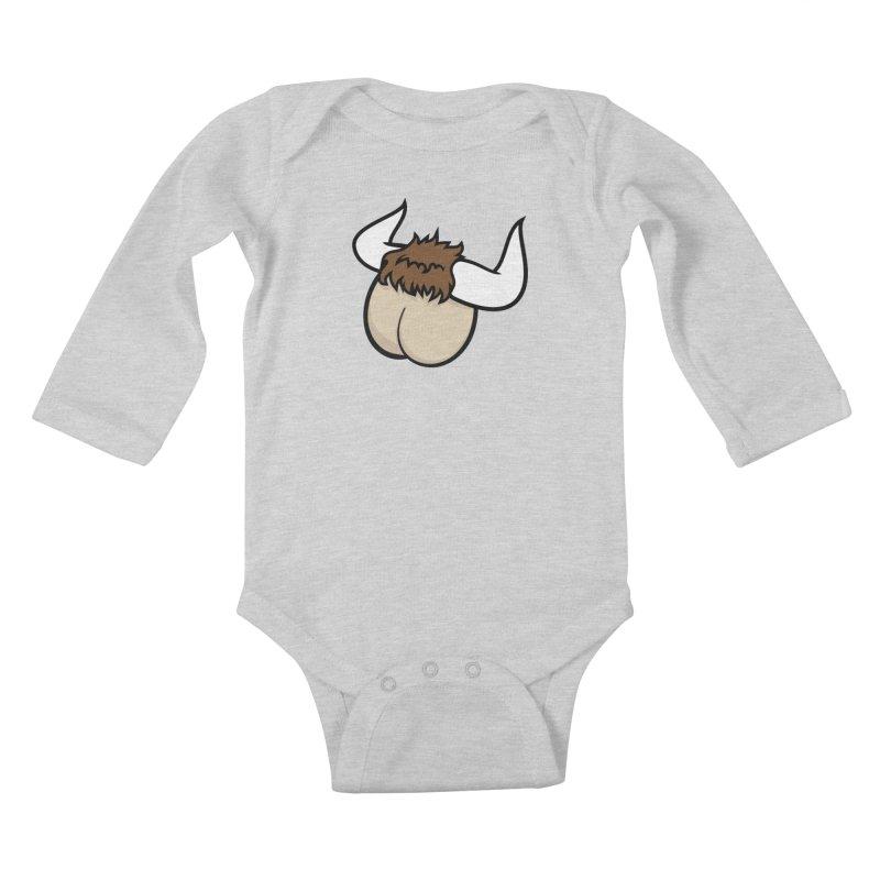 Butt Ox Kids Baby Longsleeve Bodysuit by KENYONB Threadless Shop