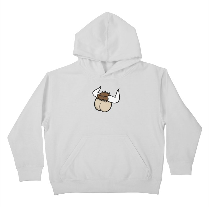 Butt Ox Kids Pullover Hoody by KENYONB Threadless Shop