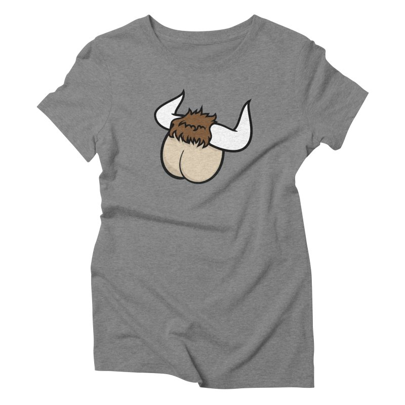 Butt Ox Women's Triblend T-Shirt by KENYONB Threadless Shop