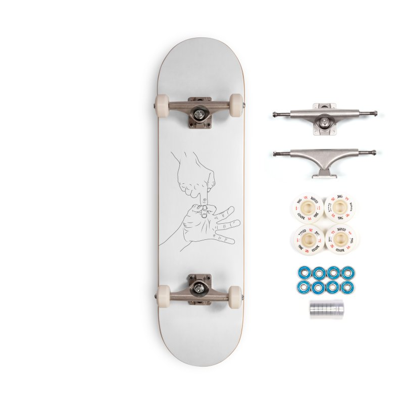 3 2 1 Contact Accessories Complete - Premium Skateboard by KENYONB Threadless Shop