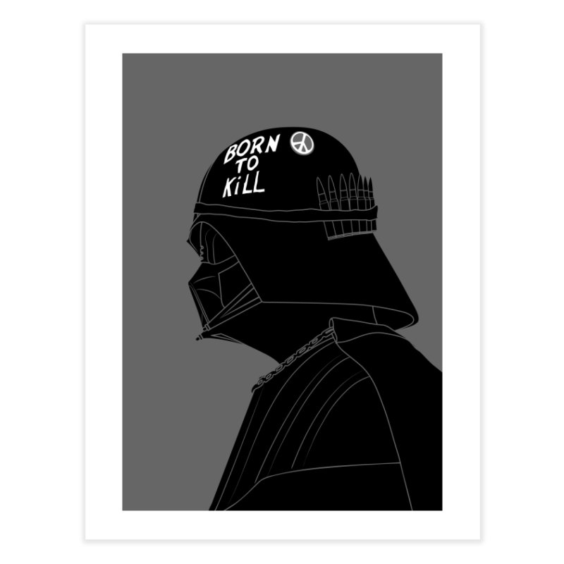 Dark Side Home Fine Art Print by KENYONB Threadless Shop