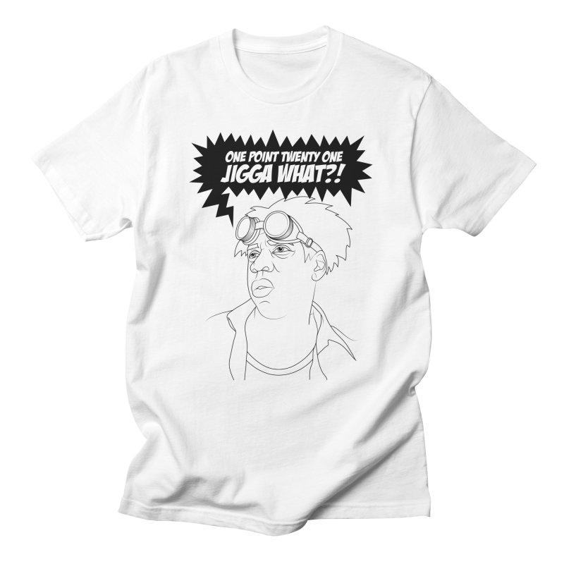 Black To The Future Men's T-Shirt by KENYONB Threadless Shop