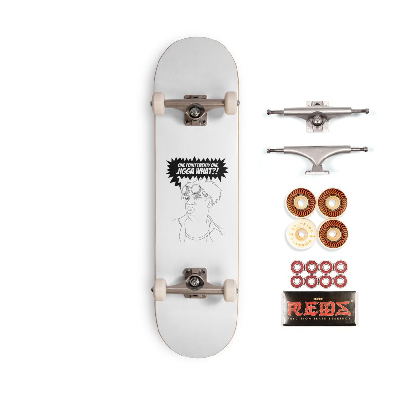 Black To The Future Accessories Skateboard by KENYONB Threadless Shop