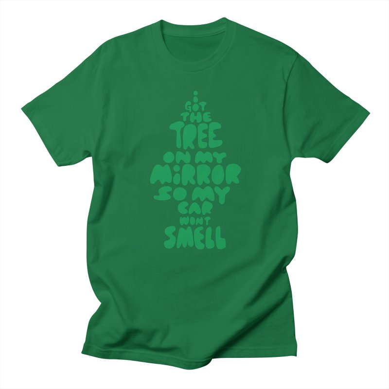 Trees in Men's Regular T-Shirt Kelly Green by KENYONB Threadless Shop