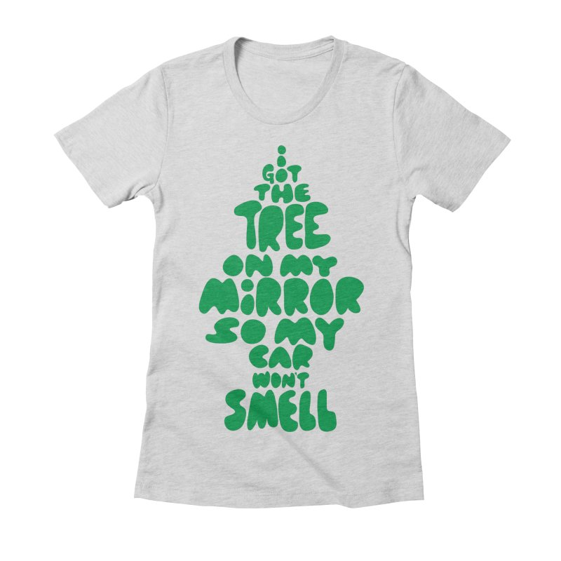 Trees Women's Fitted T-Shirt by KENYONB Threadless Shop