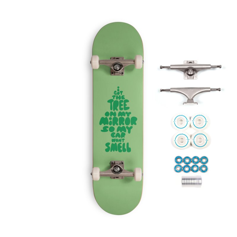 Trees Accessories Complete - Basic Skateboard by KENYONB Threadless Shop