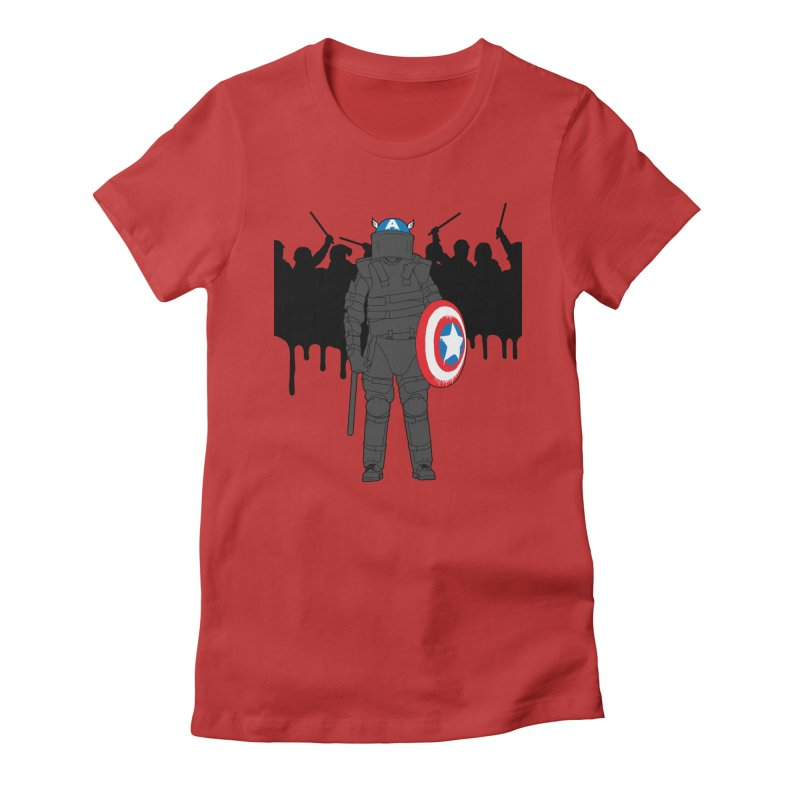 World Police Women's Fitted T-Shirt by KENYONB Threadless Shop