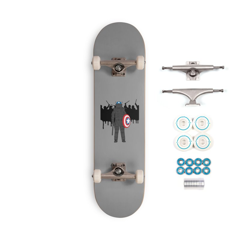 World Police Accessories Complete - Basic Skateboard by KENYONB Threadless Shop