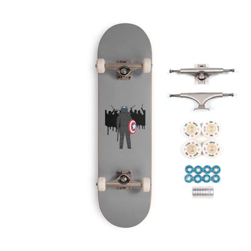 World Police Accessories Complete - Premium Skateboard by KENYONB Threadless Shop