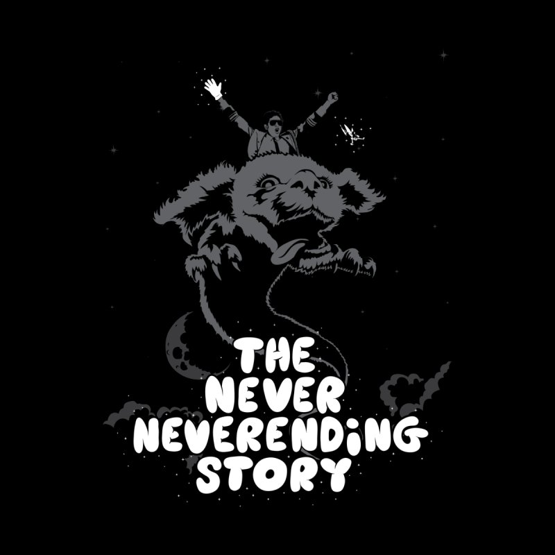 The Never Neverending Story Men's T-Shirt by KENYONB Threadless Shop