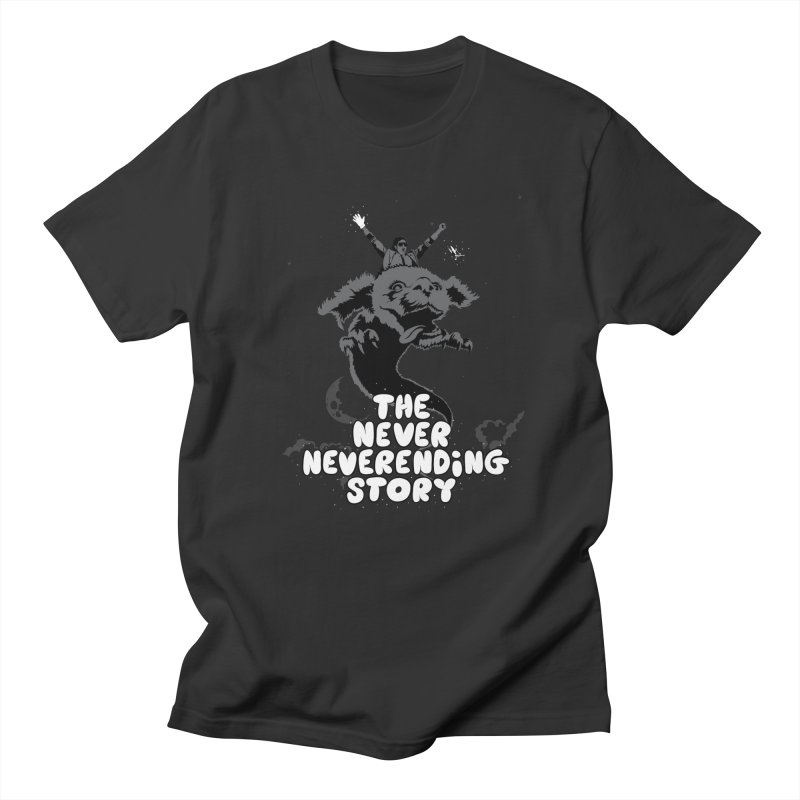 The Never Neverending Story in Men's Regular T-Shirt Smoke by KENYONB Threadless Shop