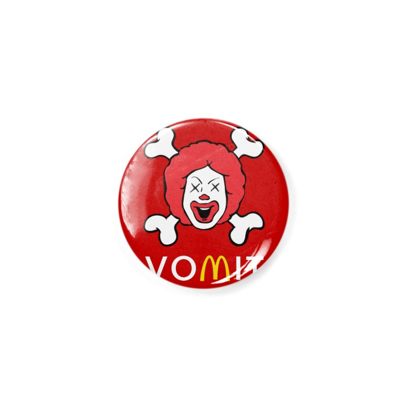 VOMIT Ronald Accessories Button by KENYONB Threadless Shop