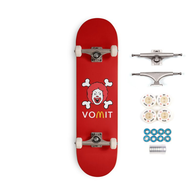 VOMIT Ronald Accessories Complete - Premium Skateboard by KENYONB Threadless Shop
