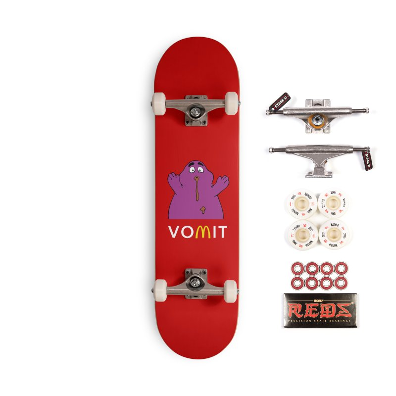 VOMIT Grimace Accessories Complete - Pro Skateboard by KENYONB Threadless Shop