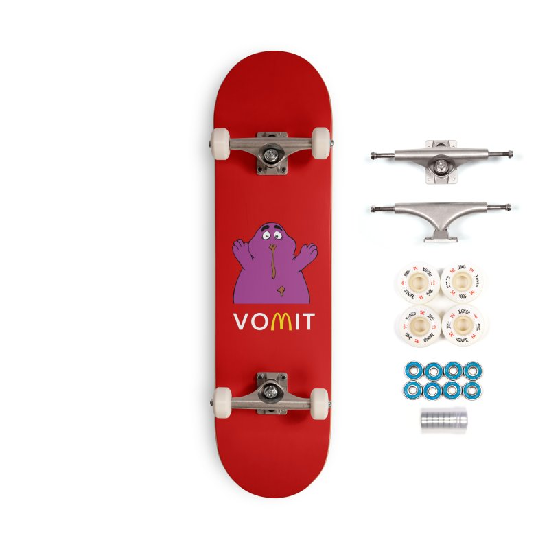 VOMIT Grimace Accessories Complete - Premium Skateboard by KENYONB Threadless Shop