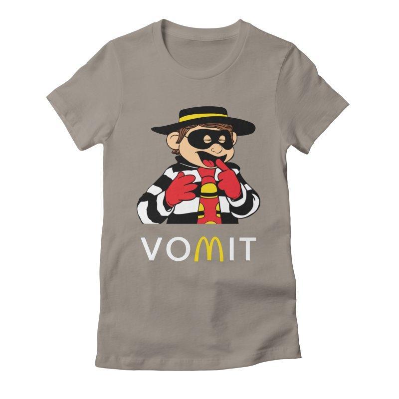 VOMIT Hamburglar Women's Fitted T-Shirt by KENYONB Threadless Shop