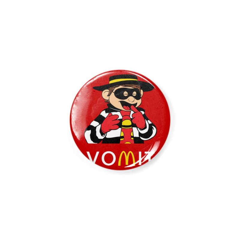 VOMIT Hamburglar Accessories Button by KENYONB Threadless Shop