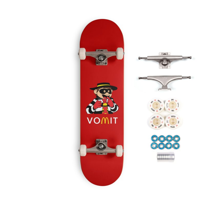 VOMIT Hamburglar Accessories Complete - Premium Skateboard by KENYONB Threadless Shop