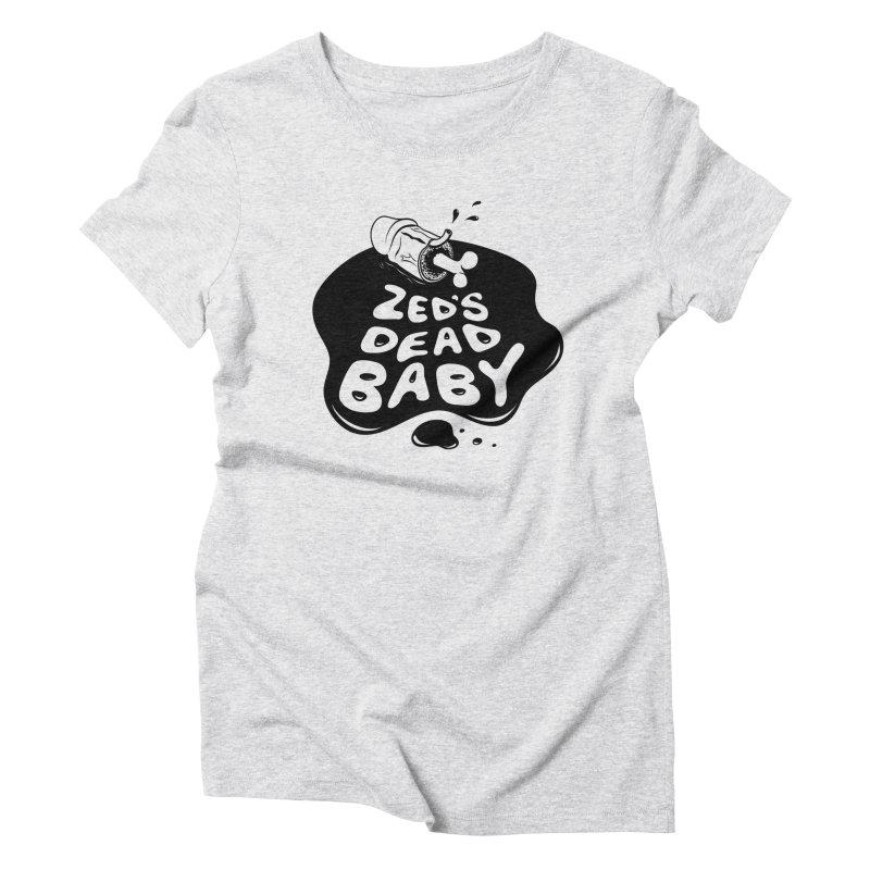 Zed's Dead Women's Triblend T-Shirt by KENYONB Threadless Shop