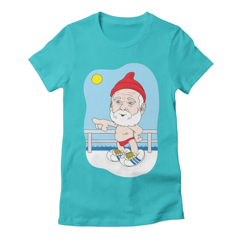 Papa Zissou Women's Fitted T-Shirt by KENYONB Threadless Shop