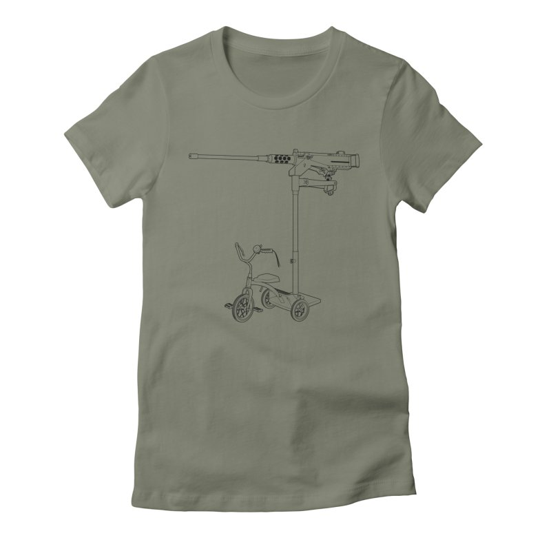 30MM Trike Women's Fitted T-Shirt by KENYONB Threadless Shop