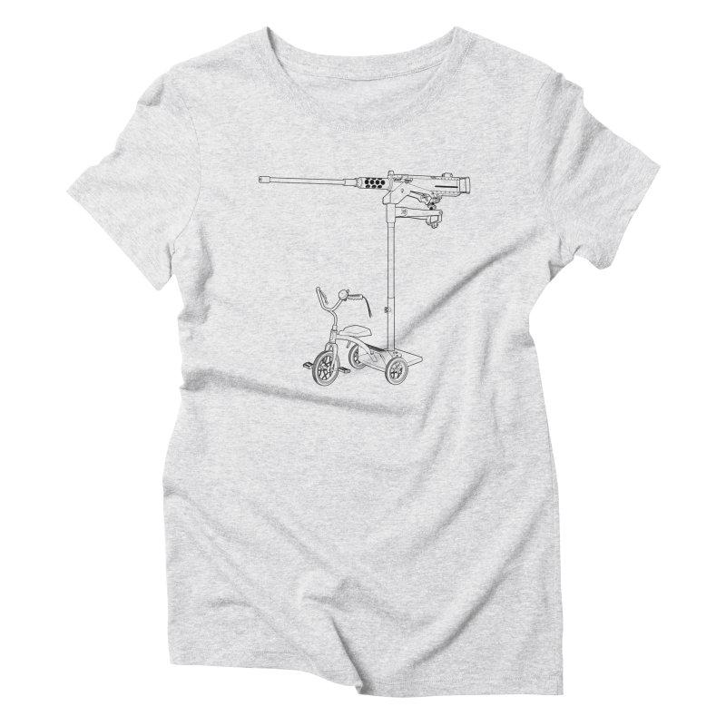 30MM Trike Women's Triblend T-Shirt by KENYONB Threadless Shop