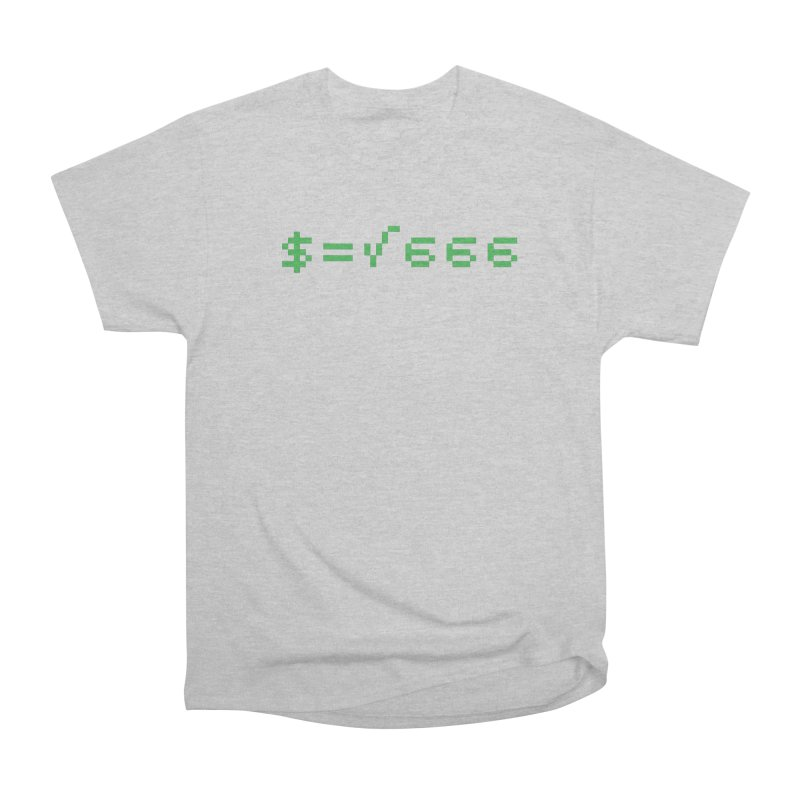 Square Root of Evil Women's Heavyweight Unisex T-Shirt by KENYONB Threadless Shop
