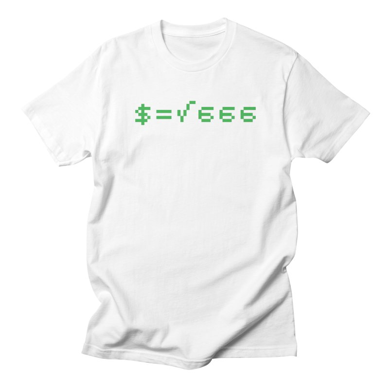 Square Root of Evil Men's T-Shirt by KENYONB Threadless Shop