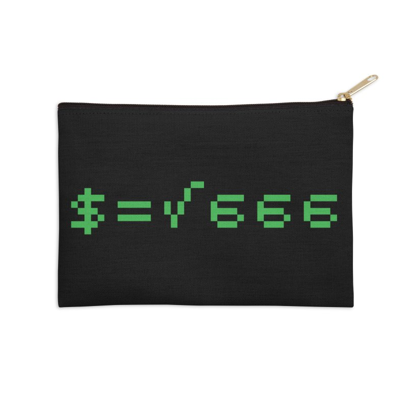 Square Root of Evil Accessories Zip Pouch by KENYONB Threadless Shop