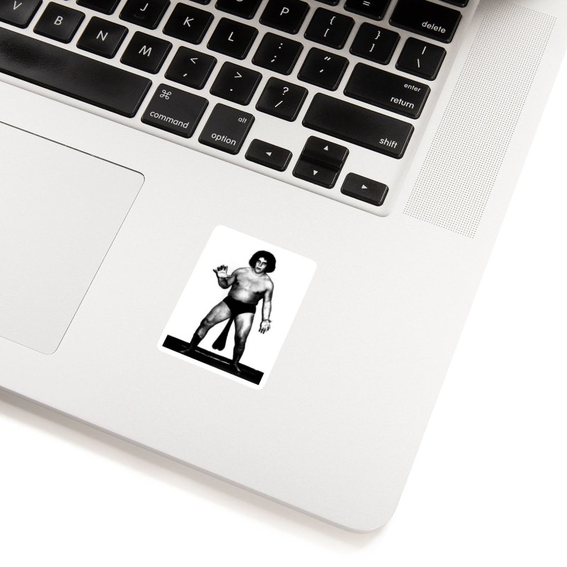Andre's Giants Accessories Sticker by KENYONB Threadless Shop