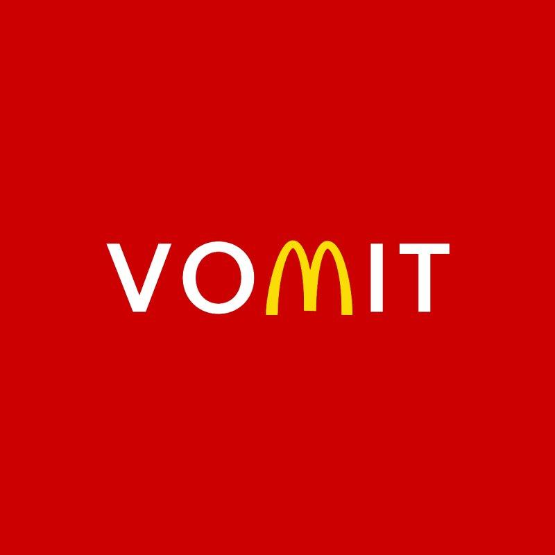 VOMIT Logotype by KENYONB Threadless Shop