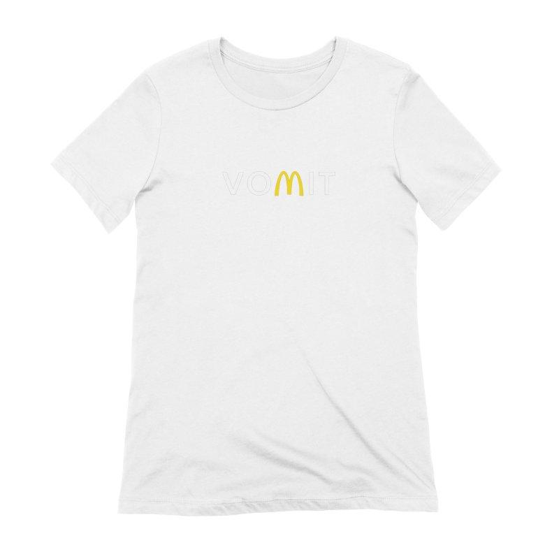 VOMIT Logotype Women's Extra Soft T-Shirt by KENYONB Threadless Shop
