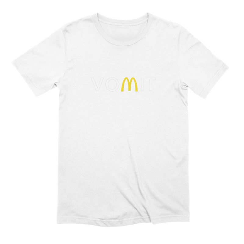 VOMIT Logotype Men's Extra Soft T-Shirt by KENYONB Threadless Shop