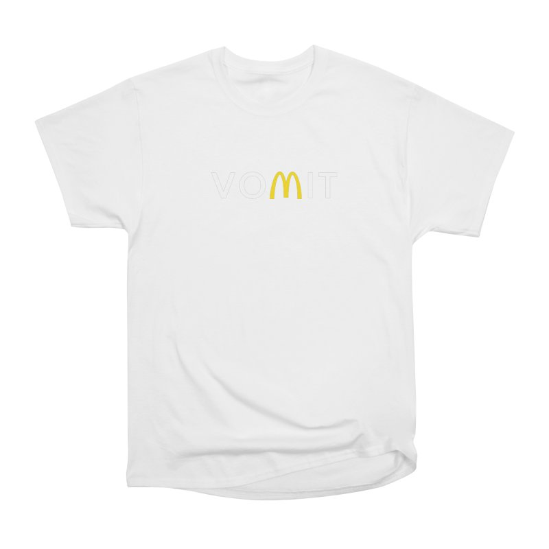 VOMIT Logotype Women's Heavyweight Unisex T-Shirt by KENYONB Threadless Shop