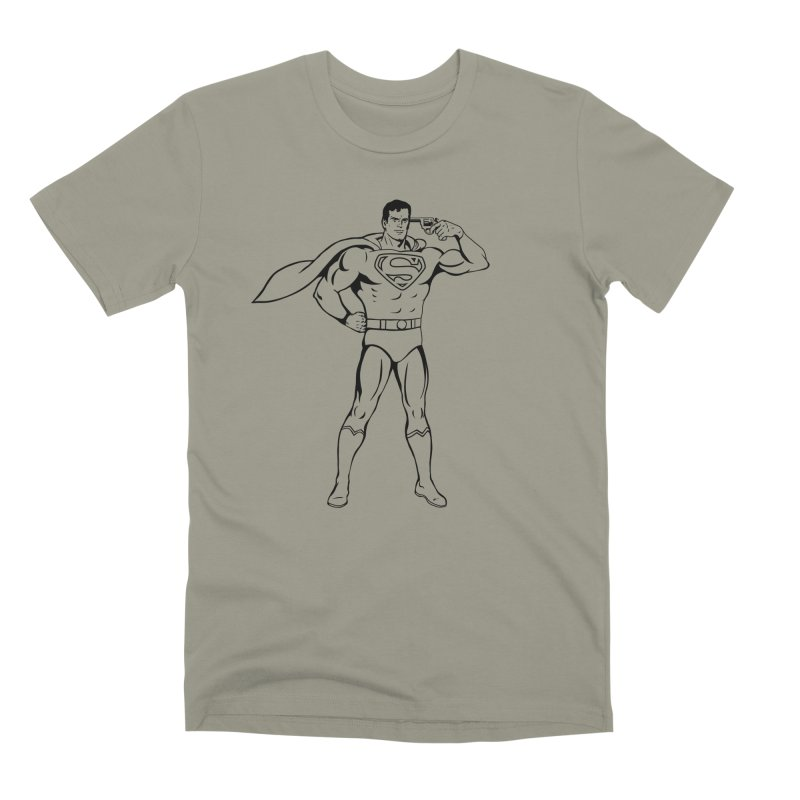 Faster Than A Speeding Bullet Men's Premium T-Shirt by KENYONB Threadless Shop